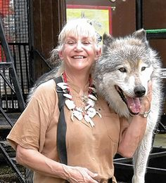 Michael and Sharon Sandlofer hope to dispel common myths about wolves -- and entertain people in the process -- when they bring their live Wolves of the World Show to the Ohio State Fair.