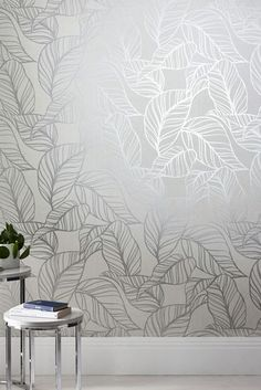 Buy Paste The Wall Silver Line Leaf Wallpaper from the Next UK online shop Thin Blue Line Wallpaper, Silver Wallpaper, Lines Wallpaper, Brown Wallpaper, Free Desktop Wallpaper, Wallpaper Gallery, Striped Wallpaper, Wallpaper Samples, Textured Wallpaper