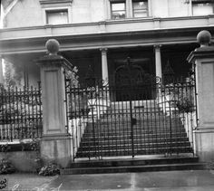 Gate of famed mansion 800 Logan :: Western History