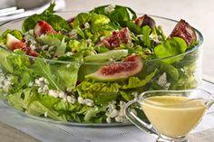 Blogs / Caderno de Cozinha / Salada de folhas verdes