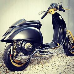 Vespa PX custom Don't know what to think of this