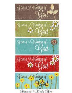 FACEBOOK Timeline Cover and Profile Digital Images Instant Download - Woman of God CHRISTian Digital Images