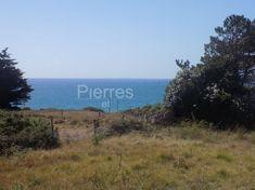 Beau terrain vue mer Tregunc,  Au calme et en retrait de la route, grand terrain vue mer, et les Glénans en toile de fond.