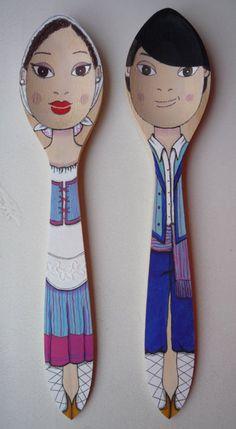 De Tacones y Bolsos: Cocochulo Shop, un lugar en el que encontrar objetos únicos, originales, a mano, hechos con mimo y cuidado, y muy especiales. Destacan las cucharas de madera y las pinzas personalizadas. Seguro que os encantarán!