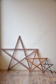 Blog sobre decoración y manualidades Diy, Christmas Ornaments, Blog, Home Decor, Wooden Stars, Manualidades, Decoration Home, Bricolage, Room Decor