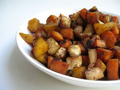 Caribbean roasted vegetables (vegan)