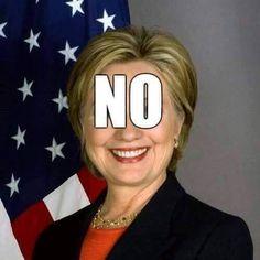 NO to Hillary!  Vote Bernie Sanders.