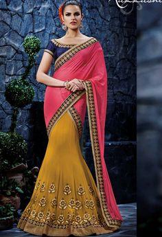 Yellow Georgette Designer Saree..@ fashionsbyindia.com #designs #indian #fashion #womens #style #cloths #clothes #stylish #casual #fashionsbyindia #punjabi #suits #wedding #saree #chic #elegance #beauty #outfits #fantasy #embroidered #dress #PakistaniFashion #Fashion #Longsuit #FloralEmbroidery #Fashionista #Fashion2015 #IndianWear #WeddingWear #Bridesmaid #BridalWear #PartyWear #Occasion #OnlineShopping