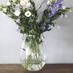 Vase verre Kossy ht.36 cm
