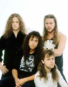 Imagen de metallica, James Hetfield, and Jason Newsted Jason Newsted, Robert Trujillo, Cliff Burton, Ramin Karimloo, James Hetfield, Idina Menzel, Axl Rose, Iron Maiden, Great Bands