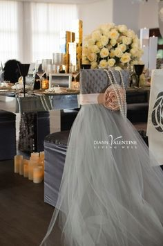The gorgeous details at Diann Valentine's New Years Girlfriend's Brunch in Miami!