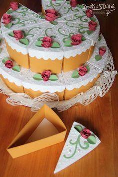 Torte5 Kutijki Diy Pinterest Paper Cake Diy Gift Box Und Cake