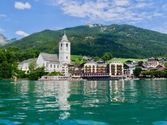 Salzburg, Austria, Lake Mountain, Heart Of Europe, Hotels, Skyline, Tours, Mountains, Mansions