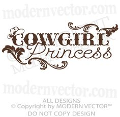 COWGIRL PRINCESS-  Hmmmm to funny...no sooner do I post something before I bump into something I quoted in the post.  Guess this shirt is Lil' Girls for sure!! :)