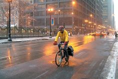 Ice-cycle: With a couple of new tricks up your sleeve, this could be your first winter on two wheels.