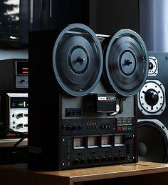 Magnétophone Tape Recorder TEAC A 3440 - www. Cd Audio, Audio Sound, Hifi Audio, Wireless Speakers, Equipment For Sale, Audio Equipment, Tape Recorder, High End Audio, Audio System