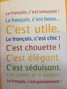 nice in french French Language Lessons, French Language Learning, French Lessons, French Phrases, French Words, French Quotes, French Teaching Resources, Teaching French, Why Learn French