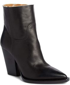 Saint Laurent Theo Bootie Wearing Black, Black Boots, Saints, Saint Laurent, Take That, Nordstrom, Booty, Heels, How To Wear