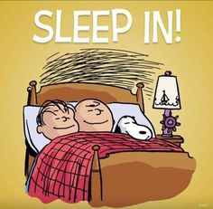 SLEEP IN! MORE Cartoon & TV images http://cartoongraphics.blogspot.com/ And on Facebook https://www.facebook.com/dreamontoyz  Peanuts ~ Linus Van Pelt, Charlie Brown and Snoopy sleeping in #Greeting #Cartoon #Saying