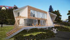 HAUS ONM | AL Architekt Cabin, House Styles, Home Decor, House, Architecture, Homes, Decoration Home, Room Decor, Cabins