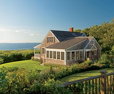 My DREAM home.....cottage style by the sea.  MUST have a path leading down to a sandy beach.  Ahhhh.....dreams.