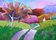 A Road Less Travelled  by Gillian Mowbray