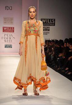 Pallavi Jaipur - Wills Lifestyle India Fashion Week - Autumn Winter 2012