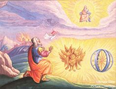 Ezekiel 1 Bible Pictures: Ezekiel Sees Gods Glory