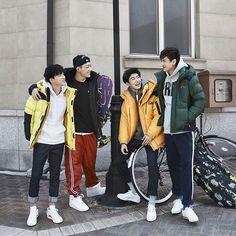 Jinhwan, Bobby, B.I, & Chanwoo for NEPA 2015 Fall/Winter Season Pictorial