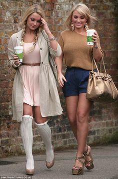 Sam and Billie Faiers..