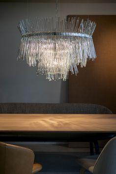 Chandelier in collaboration with Buschfeld Design. Image by Daniel Pilar / isabel hamm licht
