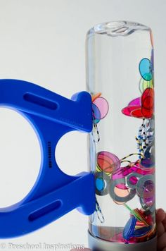No-Rust Magnetic Discovery Bottle for Sensory Play STEM Magnetic Rust-Free Discovery Bottle by Preschool STEM Magnetic Rust-Free Discovery Bottle by Preschool Inspirations. This makes a perfect sensory bottle and an activity that is great for all ages. Sensory Bottles, Sensory Bins, Sensory Activities, Sensory Play, Classroom Activities, Preschool Activities, Science Classroom, Sensory Rooms, Motor Activities