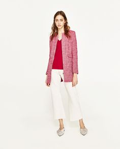 FROCK COAT WITH POCKETS-Coats-OUTERWEAR-WOMAN | ZARA France