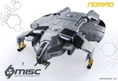 """Nomad"" Transport/Freighter/Light Cruiser - [MISC] [EPhalanx]"