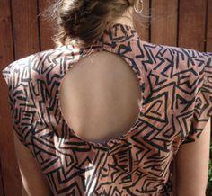 Azimuth Vintage circle print dress