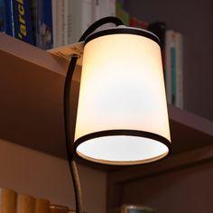LIGHTBOOK - Lampe de bibliothèque Blanc/Noir DesignHeure