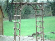 Howell's Woodland Products -- Rustic Twig Furniture