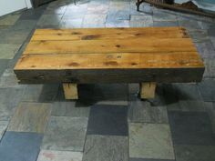 Barn Beam Coffee Table — Fixed price $450