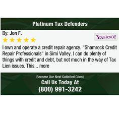 "I own and operate a credit repair agency. ""Shamrock Credit Repair Professionals"" in Simi..."