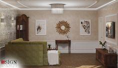 Amenajare casa – design interior in stil clasic - Studio inSIGN Apartment Interior Design, Interior Design Studio, Modern Interior Design, Small Sofa, Oriental Design, Other Rooms, Warm Colors, Art Deco, Noblesse