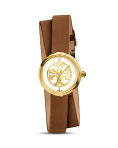 Tory Burch The Reva Double Wrap Watch, 28mm | Bloomingdale's