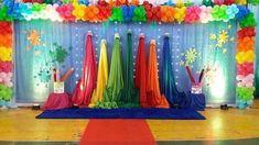 SUGESTÕES DE ORNAMENTAÇÃO PARA O TEMA: O MAIOR PINTOR DO MUNDO ESTÁ PINTANDO A NOSSA HISTÓRIA - Virtuosa Art Party Decorations, School Decorations, Party Themes, Art Themed Party, Art Birthday, Graduation Party Decor, Paint Party, Art Classroom, Art Festival