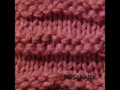 How to Loom Knit the Ridge Stitch Pattern on a Knifty Knitter Loom