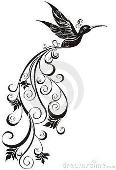 Hummingbird. Vector Illustration  Royalty Free Stock Image - Image: 18508566