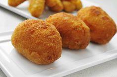 ✨ Croquetas de pollo y patata✨ ¡Qué fáciles son!    #CroquetasDePolloYPatatas #RecetasDeCroquetas #CocinaEspañola #RecetasConPollo