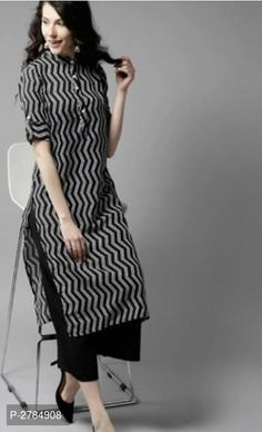 Rayon Kurti Palazzo With Thread Sequence by Sourgrape's Online - Online shopping for Kurtas on MyShopPrime - Simple Kurta Designs, New Kurti Designs, Salwar Designs, Kurta Designs Women, Kurti Designs Party Wear, Indian Kurtis Designs, Cotton Kurtis Designs, Plain Kurti Designs, Kurtis Indian