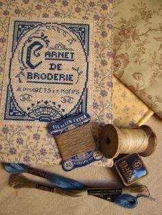 Krása je všude pro toho, kdo ji chápe a chce: Carnet de broderie