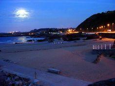 Anocheciendo en la Playa