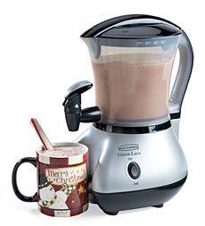 Cocoa-Latte Cappuccino, Hot Cocoa,and Latte Machine