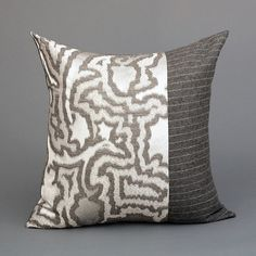 Grey Venezia Limited Edition Pillow by MONC XIII, : monc13.com